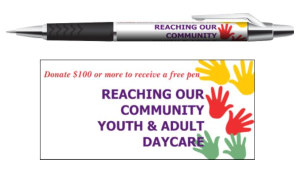 Reaching Our Community Youth and Adult Daycare pens